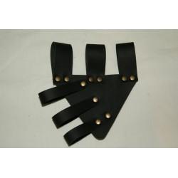 Tahalí para cinturón 2 negro