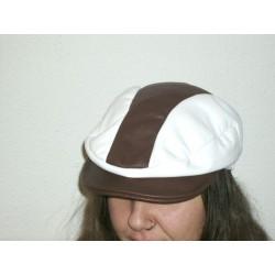 gorra-blanca-marron