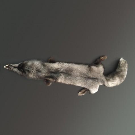 Estola de piel de zorro