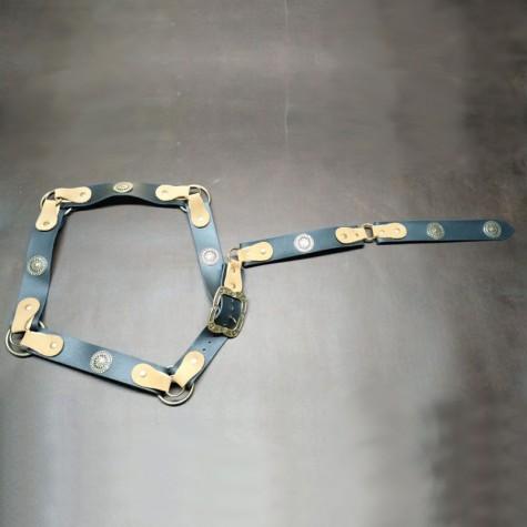 Cinturon con adornos