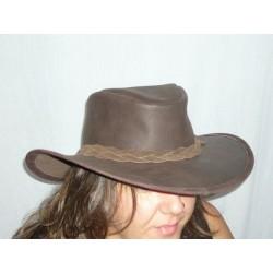 sombrero-australiano-piel-marron