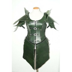 Armadura de cuero princesa Elfa