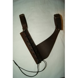 Tahalí para cinturón 2 marrón