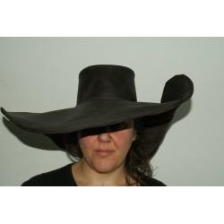 Sombrero Alatriste de piel